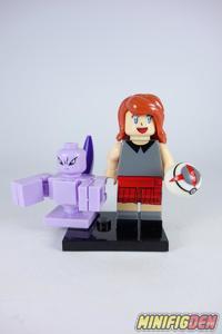 Serena and Mewtwo - Miscellaneous - Pokemon