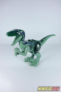 Velociraptor (Dark Green) - Animals - Dinosaurs