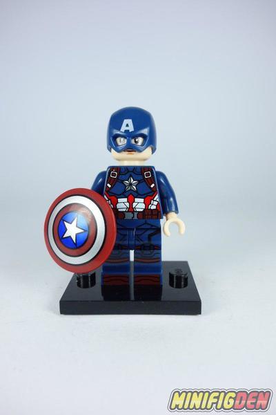 Captain America (Detailed Suit) - Marvel - Captain America