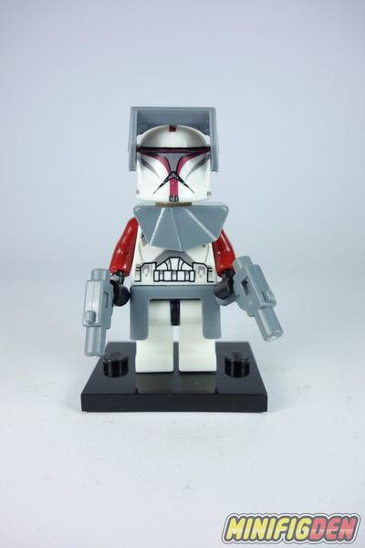 Red Clone Commander - Star Wars - Clone Wars