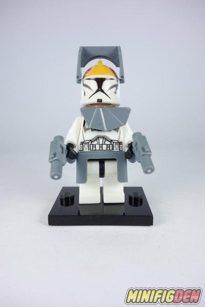 Yellow Clone Commander - Star Wars - Clone Wars
